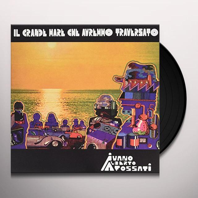 Ivano Fossati IL GRANDE MARE CHE AVREMMO Vinyl Record - Italy Import