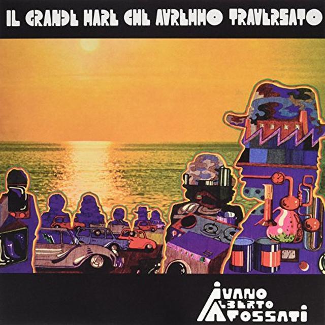Ivano Fossati IL GRANDE MARE CHE AVREMMO Vinyl Record