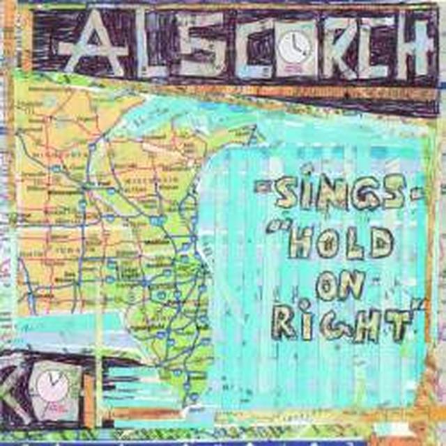 Al Scorch / David Dondero HOLD ON RIGHT / COUNTRY CLICHE Vinyl Record