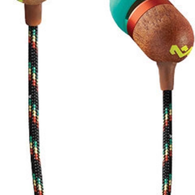 Headphones HOUSE OF MARLEY SMILE JAMAICA EARBUDS (RASTA)