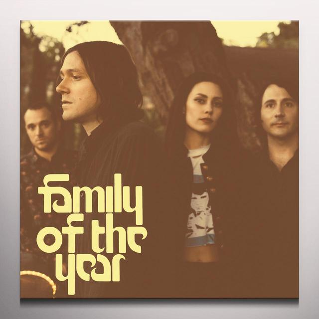 FAMILY OF THE YEAR Vinyl Record - Colored Vinyl, Gatefold Sleeve, Deluxe Edition, Digital Download Included