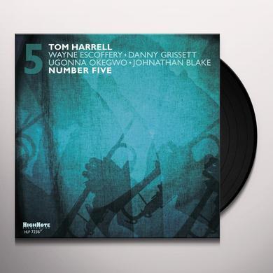Tom Harrell NUMBER FIVE Vinyl Record