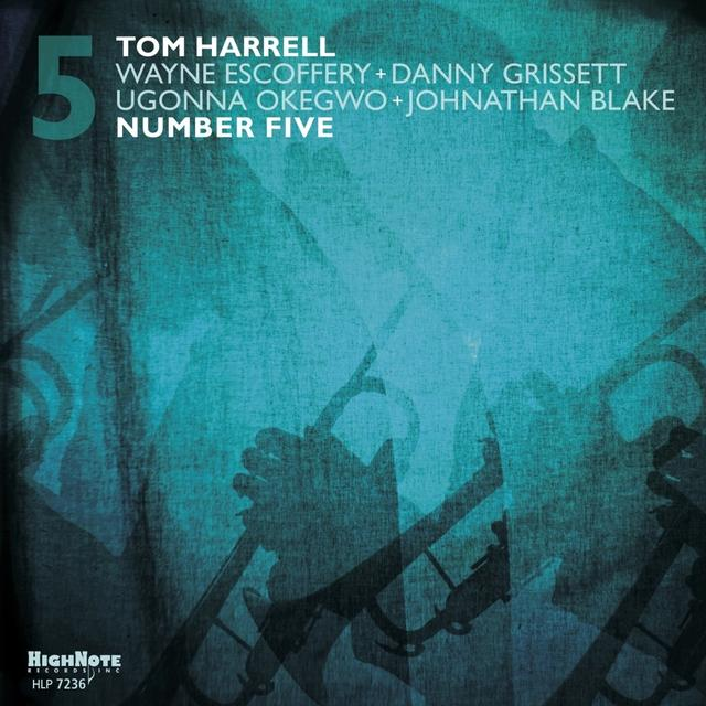 Tom Harrell NUMBER FIVE Vinyl Record