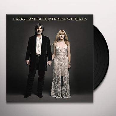 Larry Campbell / Teresa Williams LARRY CAMPBELL & TERESA WILLIAMS Vinyl Record