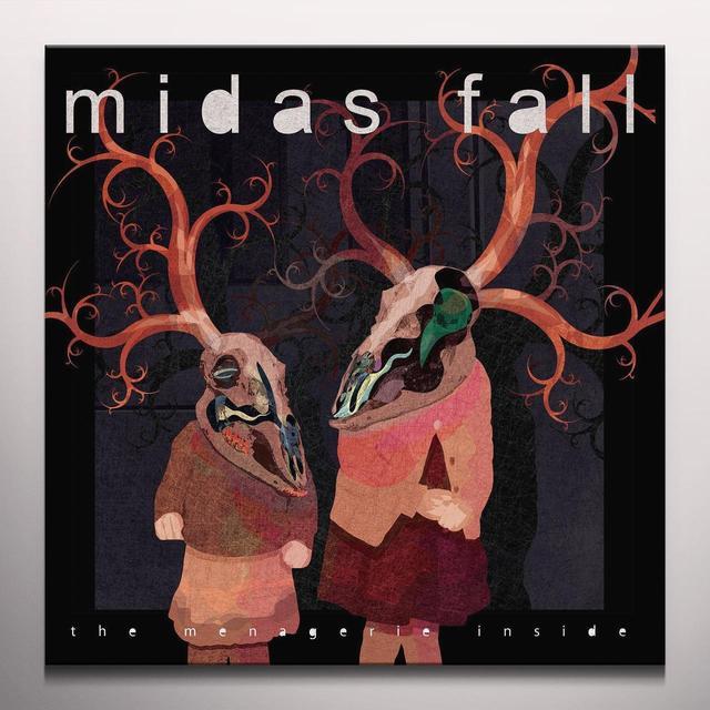 Midas Fall MENAGERIE INSIDE Vinyl Record - w/CD, Colored Vinyl, 180 Gram Pressing, Poster