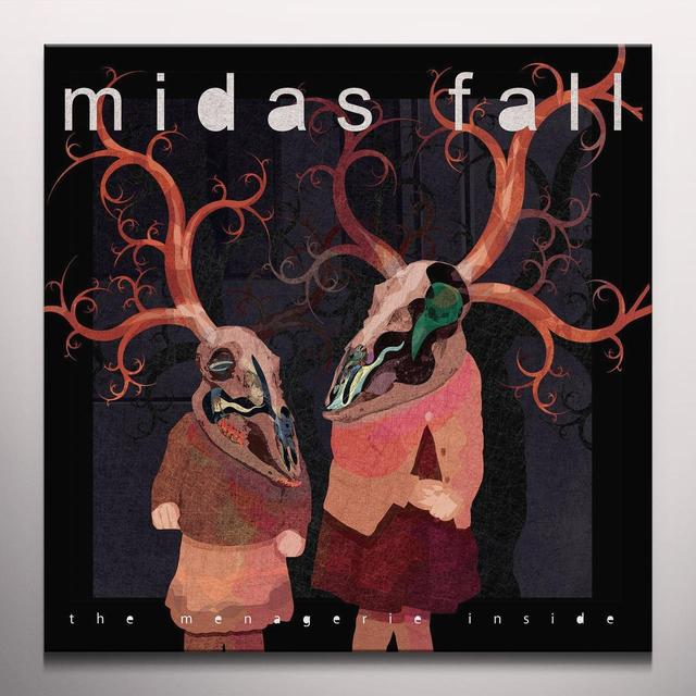 Midas Fall MENAGERIE INSIDE Vinyl Record - w/CD, Colored Vinyl, 180 Gram Pressing, Poster