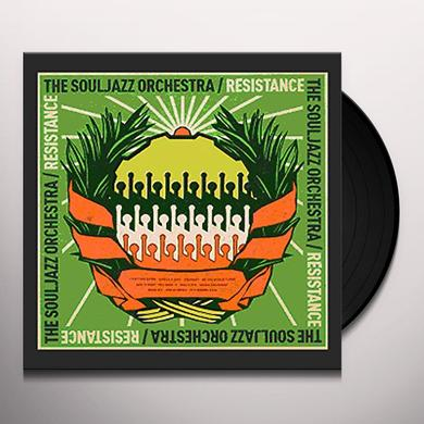 The Souljazz Orchestra RESISTANCE Vinyl Record - w/CD