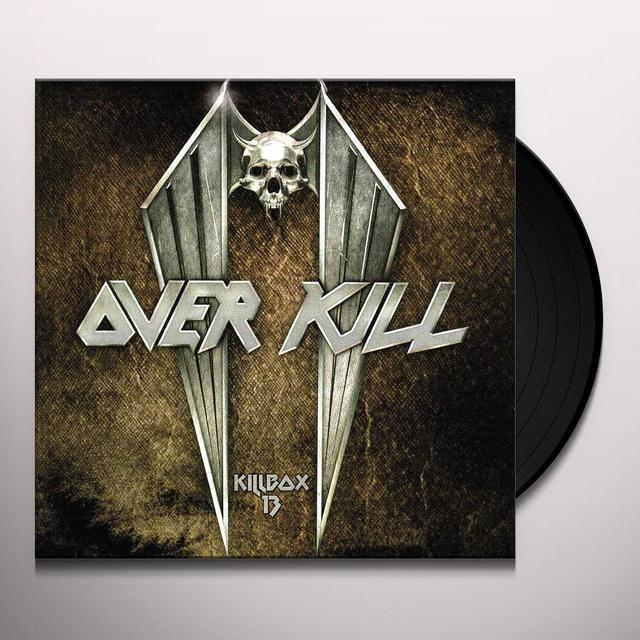 Overkill KILLBOX 13 Vinyl Record - Gatefold Sleeve