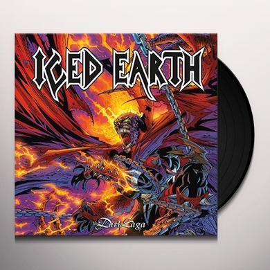 Iced Earth DARK SAGA Vinyl Record - Gatefold Sleeve, 180 Gram Pressing, Reissue