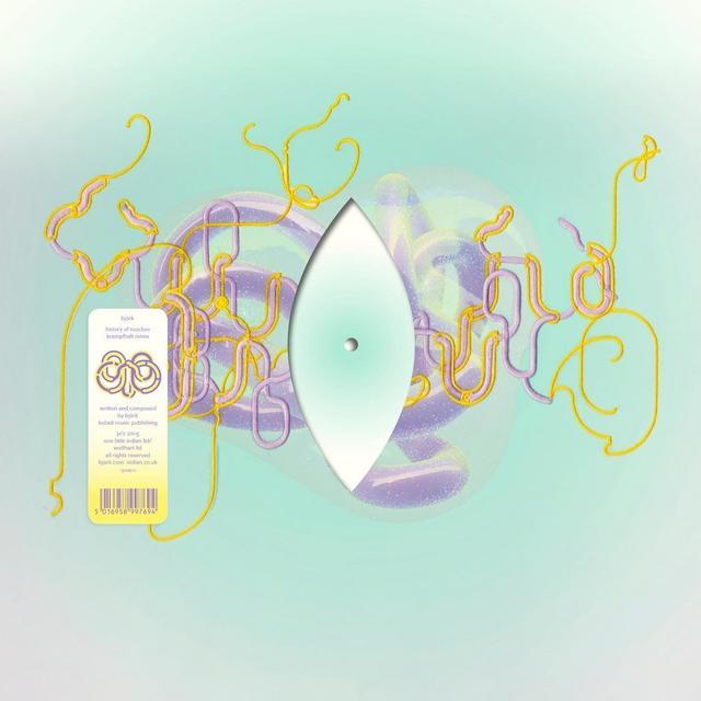 Bjork HISTORY OF TOUCHES (KRAMPFHAFT REMIX) Vinyl Record