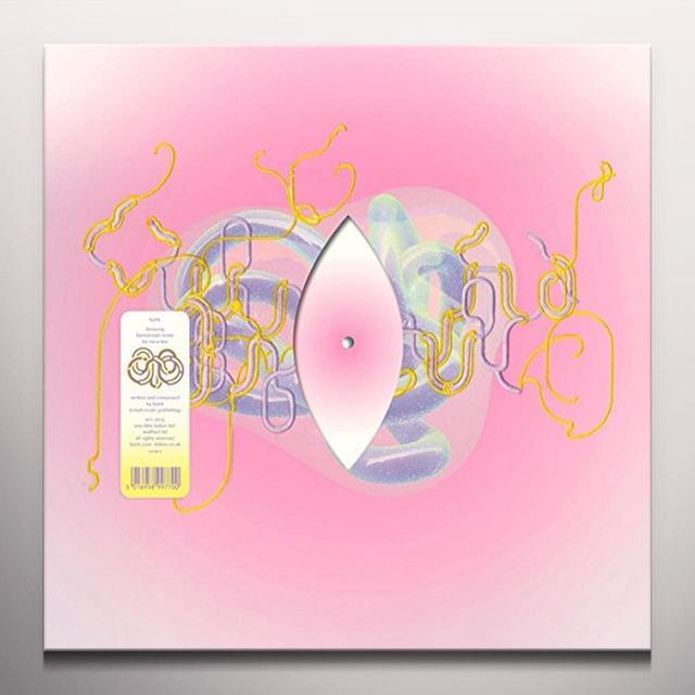 Bjork LIONSONG (KAREOKIEIJD REMIX BY MICA LEVI) Vinyl Record - Clear Vinyl