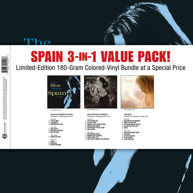 SPAIN 3-IN-1 VALUE PACK Vinyl Record - UK Import