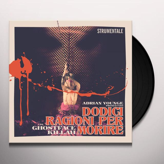 Ghostface Killah 12 REASONS TO DIE: INSTRUMENTALS Vinyl Record