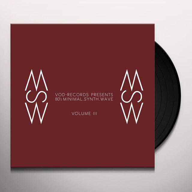 VOD-RECORDS PRESENTS / VARIOUS VOD-RECORDS PRESENTS: 80'S MINIMAL. VOL. III / VAR Vinyl Record