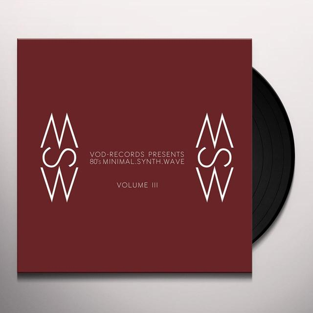 VOD-RECORDS PRESENTS / VARIOUS VOD-RECORDS PRESENTS: 80'S MINIMAL. VOL. III / VAR Vinyl Record