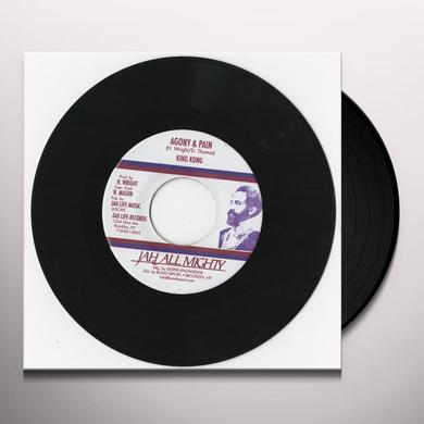 King Kong AGONY & PAIN Vinyl Record