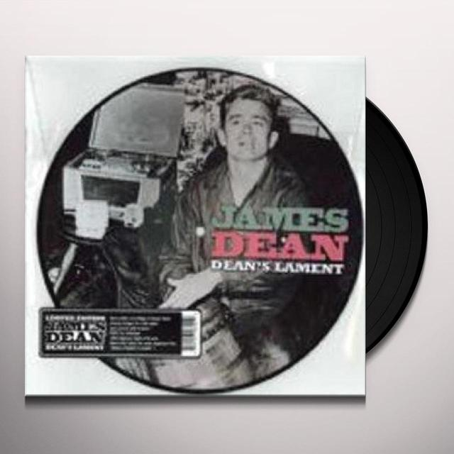James Dean DEAN'S LAMENT Vinyl Record - 10 Inch Single, Picture Disc