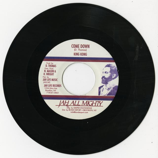 King Kong CAME DOWN Vinyl Record