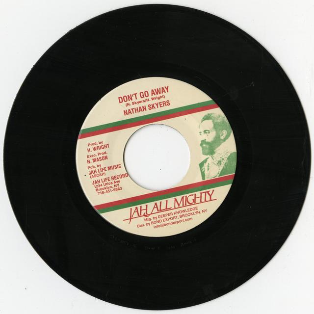 Nathan Skyers DON'T GO AWAY Vinyl Record