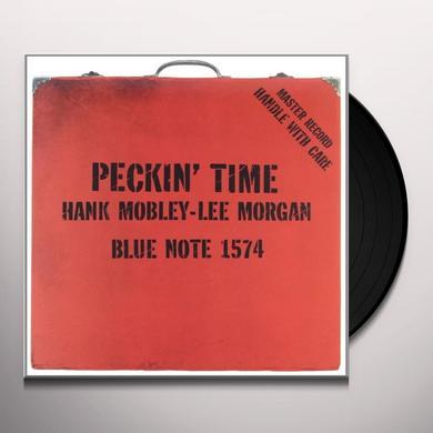 Hank Mobley PECKIN TIME Vinyl Record