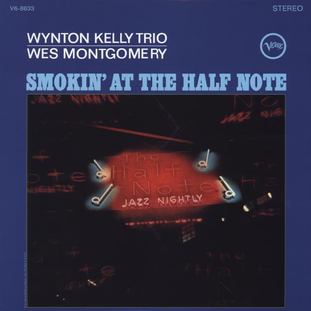 Wynton Kelly SMOKIN AT THE HALF NOTE Vinyl Record