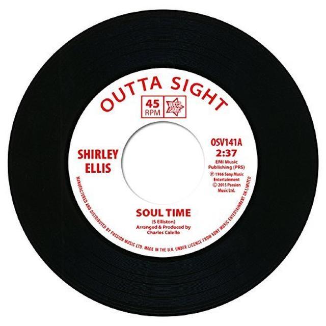 Shirley Ellis / Lynne Randell SOUL TIME/STRANGER IN MY ARMS Vinyl Record - UK Import