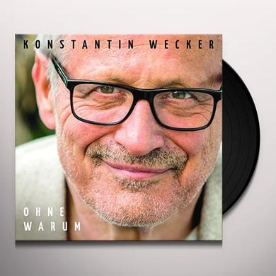 Konstantin Wecker OHNE WARUM Vinyl Record
