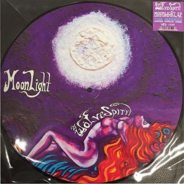 Wolvespirit MOONLIGHT EP Vinyl Record - Limited Edition, Picture Disc, UK Import