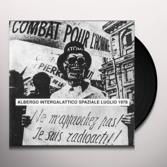 ALBERGO INTERGALATTICO SPAZI ALBERGO INT Vinyl Record