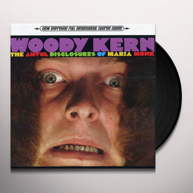 Woody Kern AWFUL DISCLOSURE OF MARIA Vinyl Record