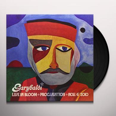 Garybaldi LIVE IN BLOOM: PROGVENTION N Vinyl Record - Italy Import