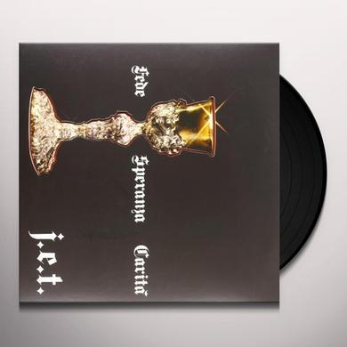 J.E.T. FEDE SPERANZA CARITA Vinyl Record - Italy Release