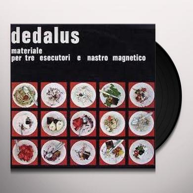 Dedalus MATERIALE PER TRE ESECUTORI Vinyl Record