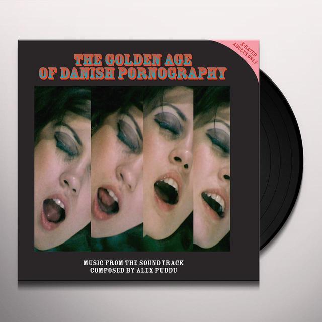 Alex Puddu GOLDEN AGE OF DANISH PORNOGRAPHY Vinyl Record