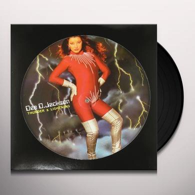Dee D. Jackson THUNDER & LIGHTNING Vinyl Record - Italy Import