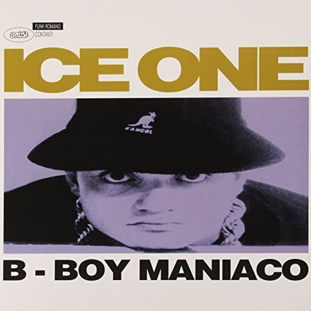 ICE ONE B-BOY MANIACO Vinyl Record - Italy Import