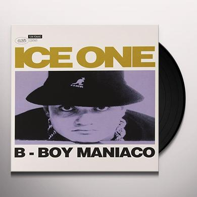 ICE ONE B-BOY MANIACO Vinyl Record - Italy Import
