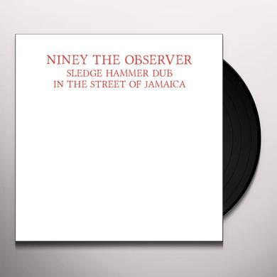 Niney The Observer SLEDGE HAMMER DUB IN THE STREET OF JAMAICA Vinyl Record - UK Import
