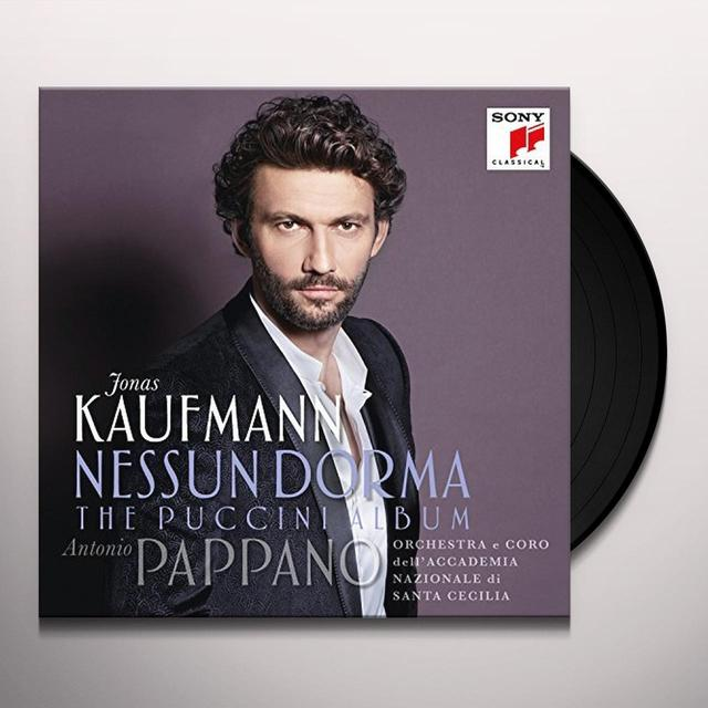 Jonas Kaufmann NESSUN DORMA: THE PUCCINI ALBUM Vinyl Record - Gatefold Sleeve