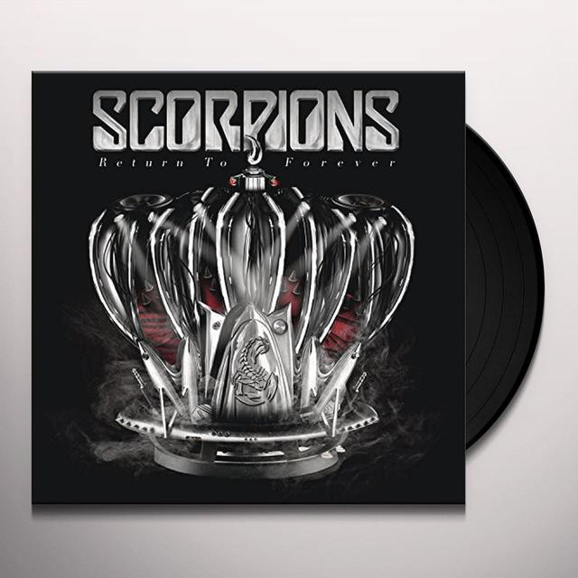 Scorpions RETURN TO FOREVER   (DLI) Vinyl Record - Gatefold Sleeve, 180 Gram Pressing