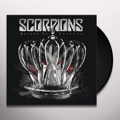Scorpions RETURN TO FOREVER Vinyl Record