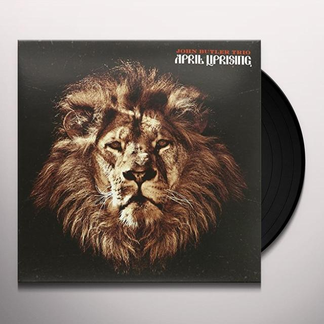 John Butler Trio APRIL UPRISING Vinyl Record - Australia Import
