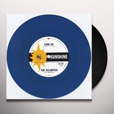 atlantics COME ON/YOU TELL ME WHY Vinyl Record