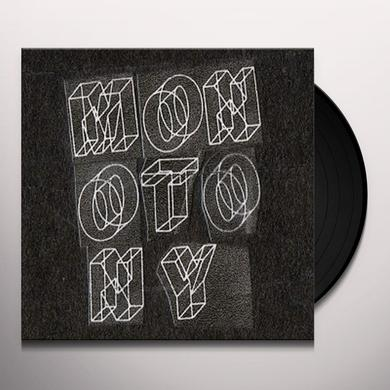 MONOTONY EP Vinyl Record - UK Import