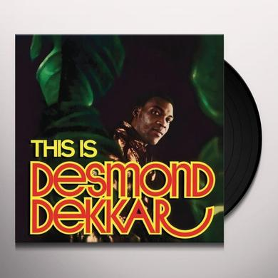 Desmond Dekker THIS IS DESMOND DEKKAR Vinyl Record - UK Import