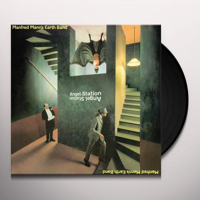 Manfred Mann'S Earth Band ANGEL STATION Vinyl Record