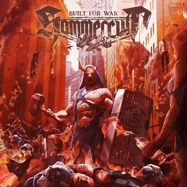 Hammercult BUILT FOR WAR Vinyl Record