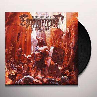 Hammercult BUILT FOR WAR  (BONUS TRACK) Vinyl Record - w/CD