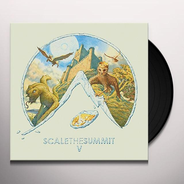 Scale The Summit V Vinyl Record - 180 Gram Pressing, Digital Download Included