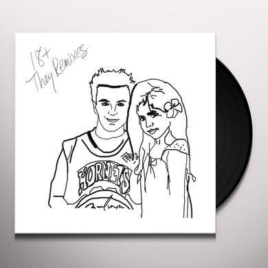 18+ THEY REMIXES Vinyl Record